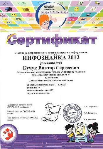 Всероссийская игра конкурс