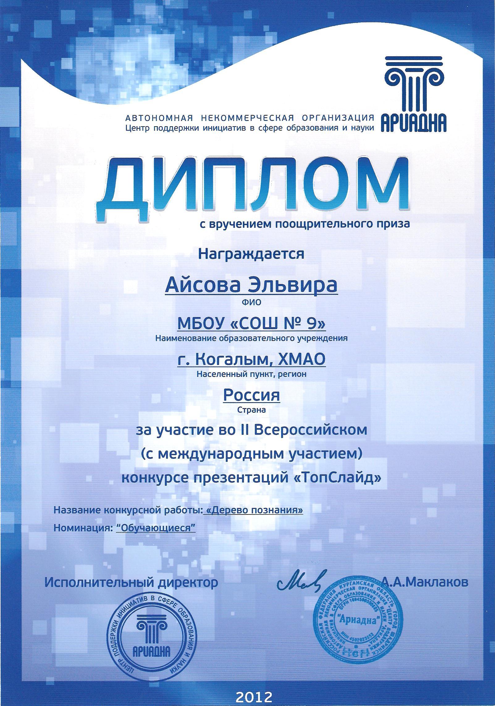 Конкурс презентаций информатика